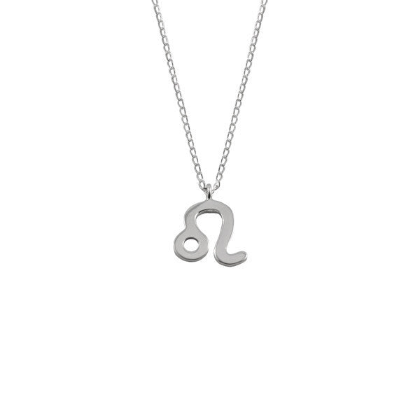 Leo Silver Zodiac Necklace