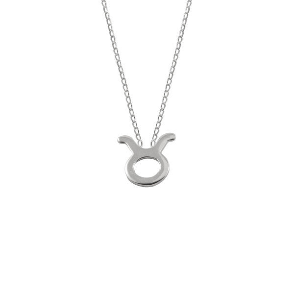 necklaces taurus silver necklace