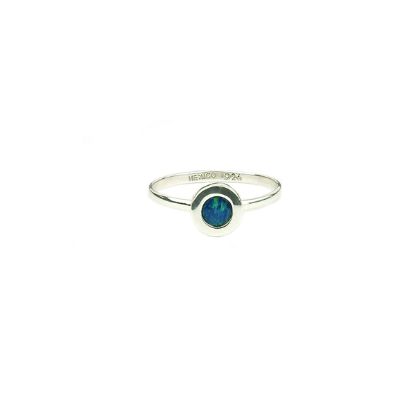 Opal Ring Sterling Silver 925