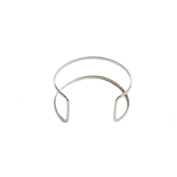 Double Band Cuff Silver 925
