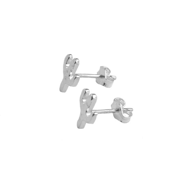 Cactus Earrings Silver 925