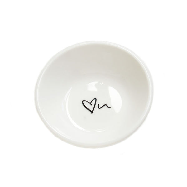 Ichu trinket dish heart design