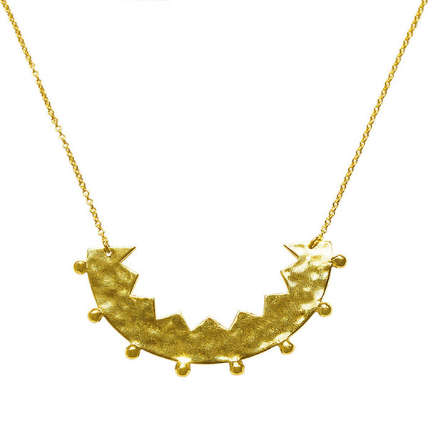Frida necklace 22 KT Yellow Gold plate