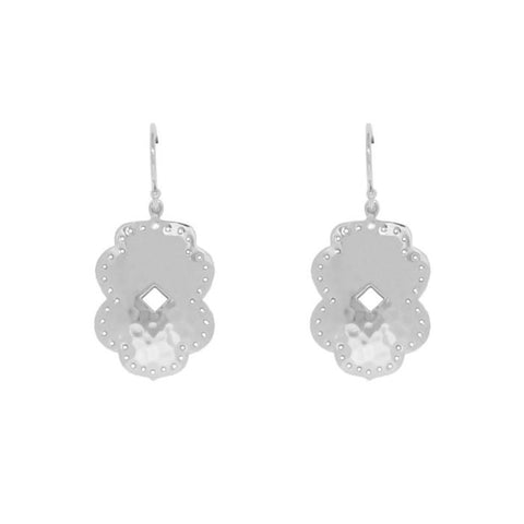Beleza Medium Drop Earrings in Sterling Silver