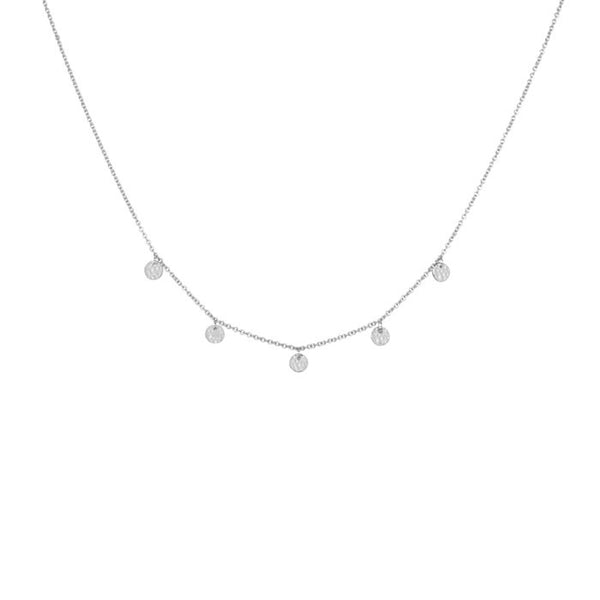 Grace Choker Necklace in Sterling Silver