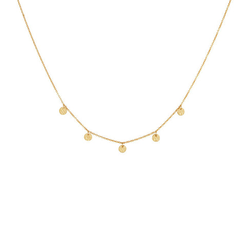 Grace Choker Necklace in 18 KT Yellow Gold plate