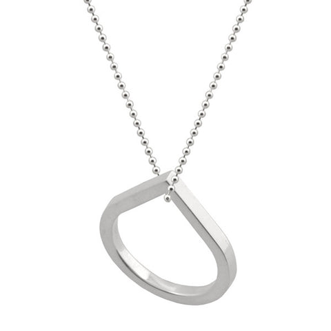 Point ring necklace Sterling Silver