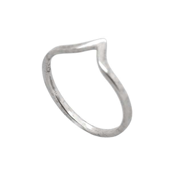 Silver Mini V Ring Ichu