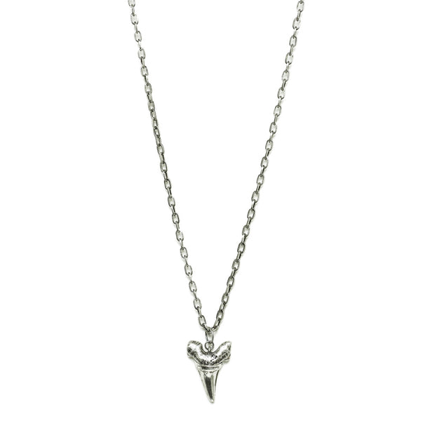 Large Shark Tooth Charm Necklace