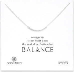 Silver Balance Necklace