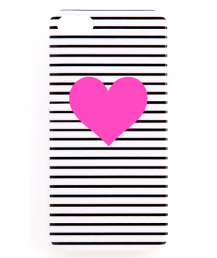 Pink Heart iPhone 5 Case