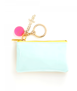 Mermaid Zip Zip Keychain Purse