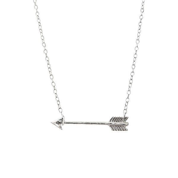 Arrow Necklace Sterling Silver 925 Murkani