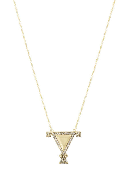 House of Harlow Tres Tri Necklace