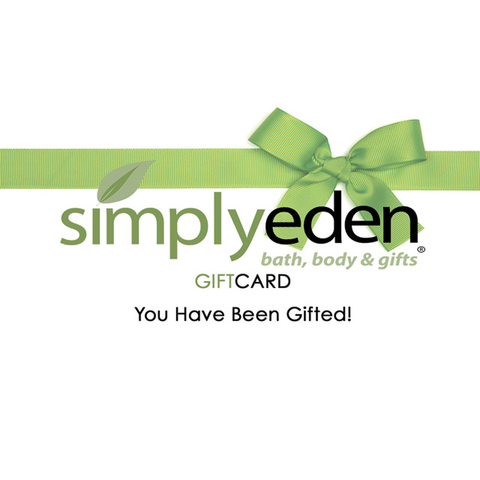 Simply Eden Gift Certificate