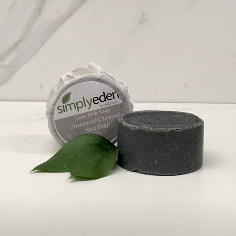 Face Soap, Charcoal Unscented (acne)