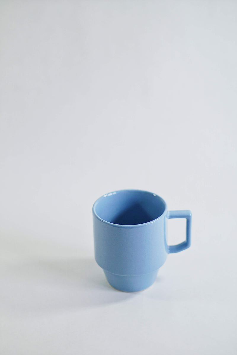 Hasami Porcelain Block Mug - Light blue
