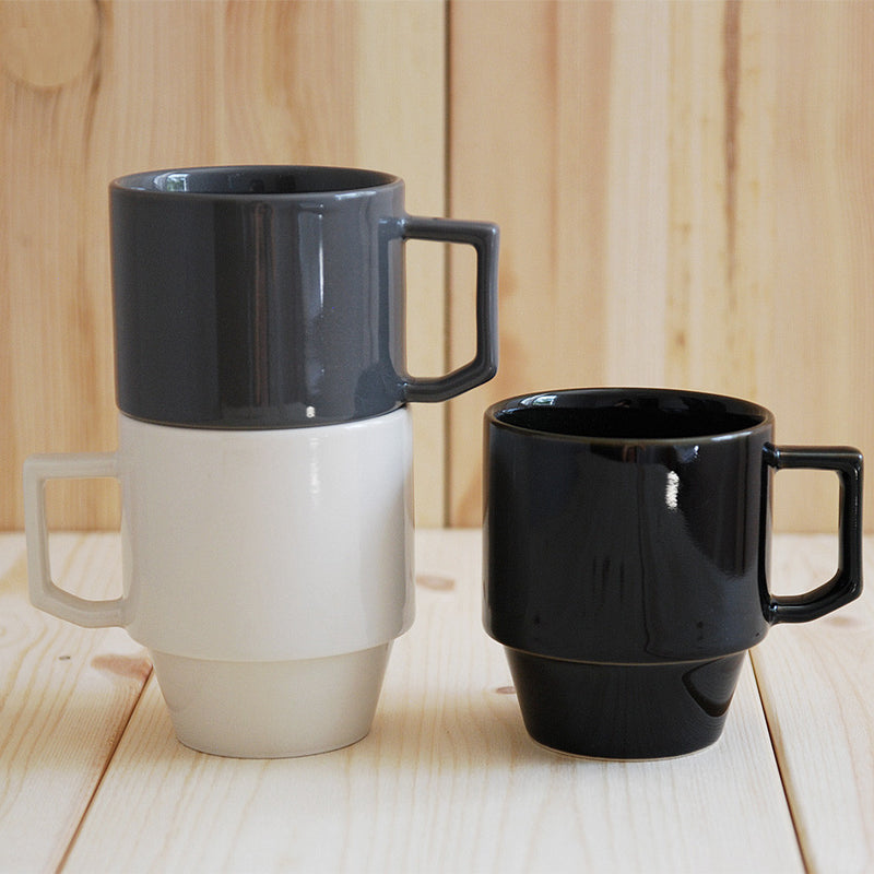 Hasami Porcelain Block Mug - Black