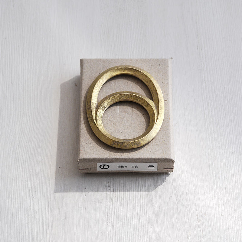 Brass Bottle Opener - Eclipse