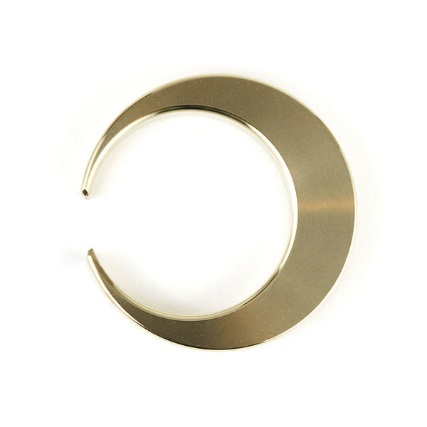 Brass Bottle Opener - Crescent