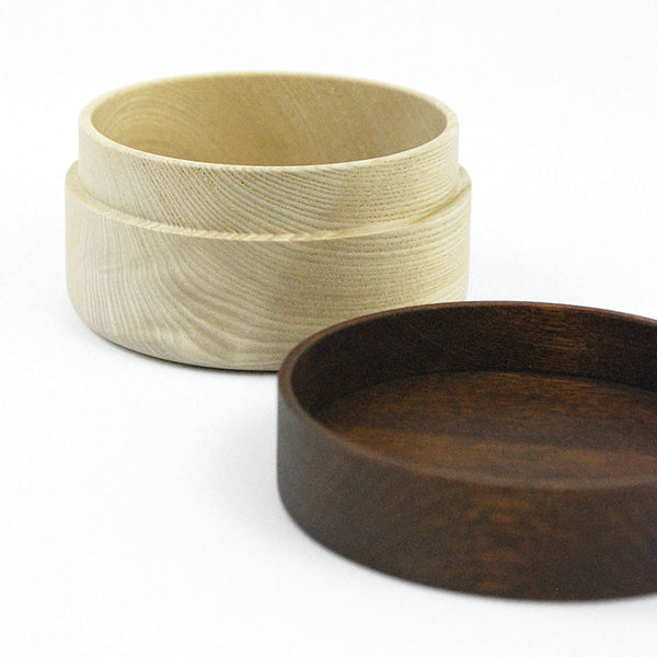 Hako wood container - Soji Collection - Small Brown