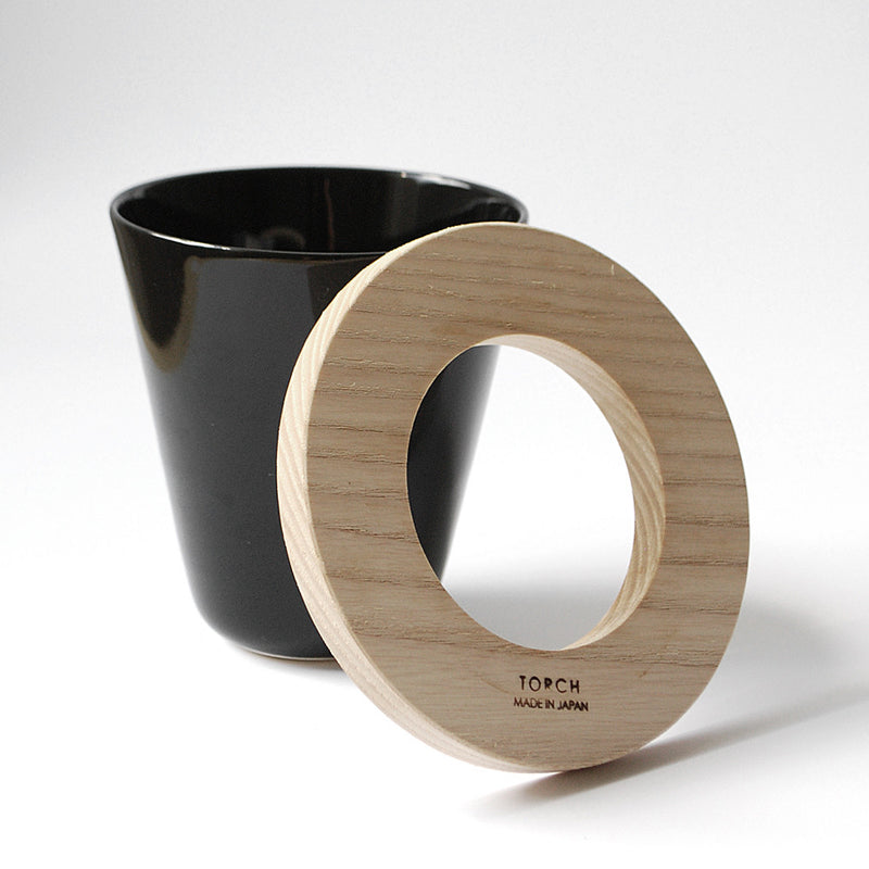 Donut Coffee Dripper - Black