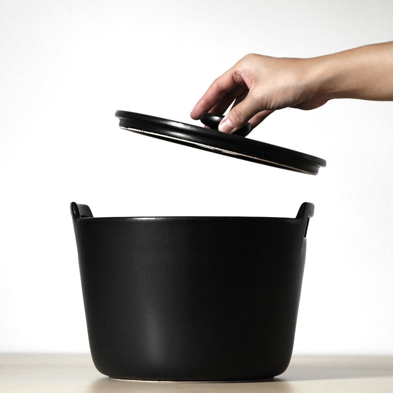 Roti Stew Pot - Black