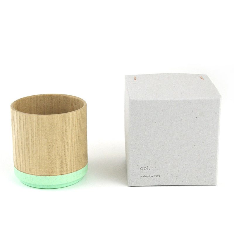 Roly Wood Cup - Mint