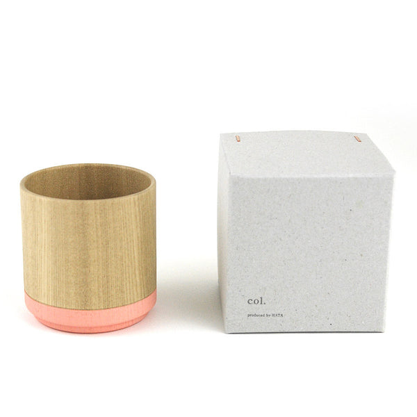 Roly Wood Cup - Pink