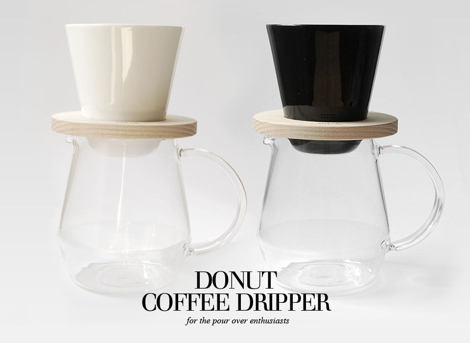 Donut coffee dripper