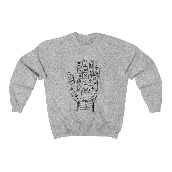 Palm Reader Crewneck Sweatshirt