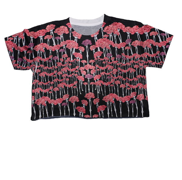 Carnation Carnage Crop Top