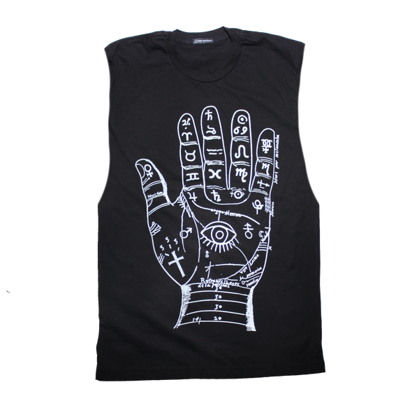 Palm reader t shirt