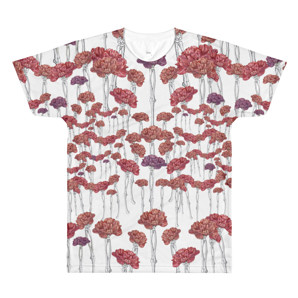 Carnation Carnage T-Shirt All Over Print