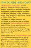 Kids Yoga Deck | Yoga Poses | Flash Cards | Educational Material