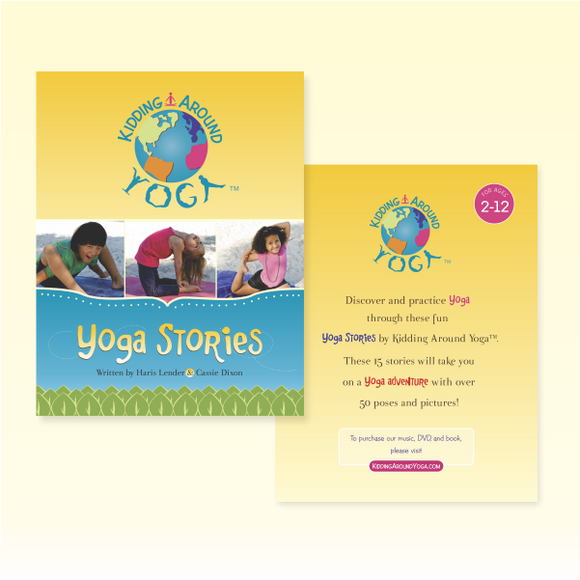Kids Yoga Stories | Educational Material | Yoga Books