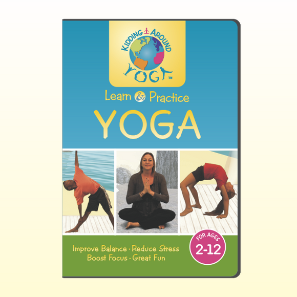 Kidding Around Yoga DVD - (HARD COPY)