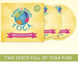 Yoga Greatest Hits for Kids | Kids Yoga Music | Yoga CD
