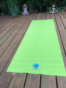 Yoga Mat Kidding Around Yoga Emblem