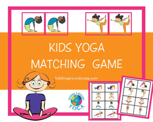 Matching Yoga | Fun Kids Yoga Games | Printable