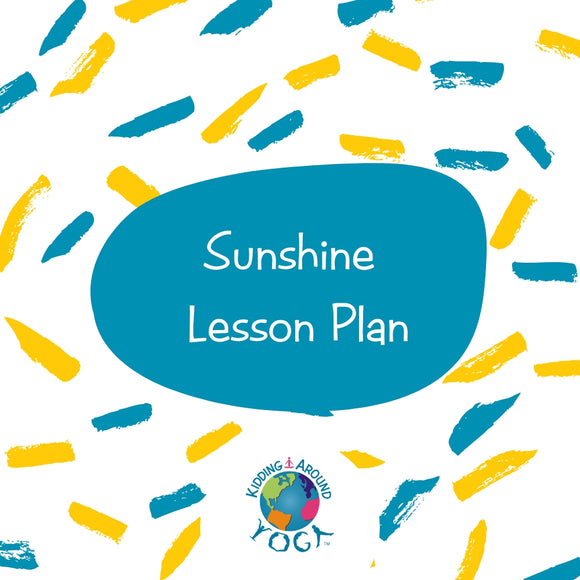 Sunshine Lesson Plan