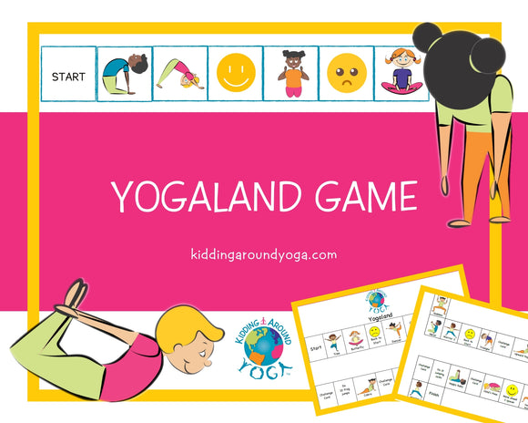 Yogaland Game | Fun Kids Yoga Games | Printable