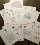 Ultimate Activity Bundle: Coloring pages, Word Games, Yogaland, Yoga Pose Cards, select KAY songs
