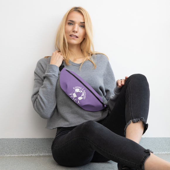 Fanny Pack - Purple | Yoga Accessories | Yoga Clothing