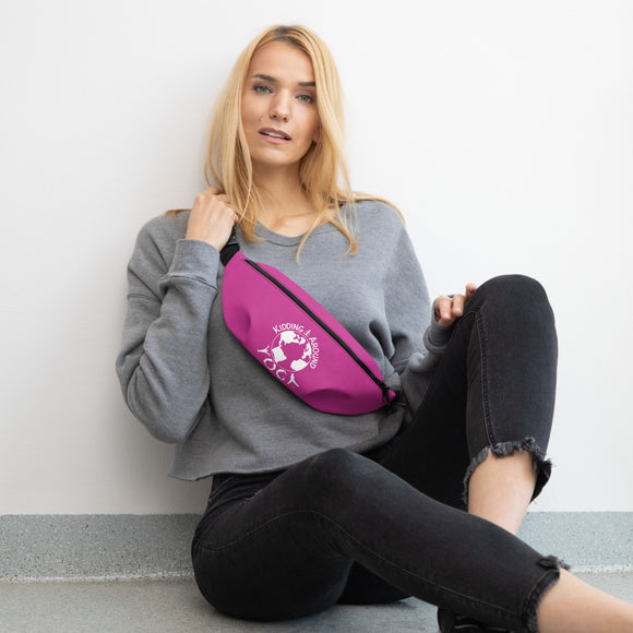 Fanny Pack - Pink | Yoga Accessories | Yoga Clothing