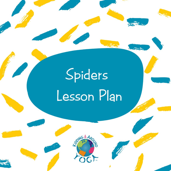 Spiders Lesson Plan