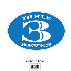 Three 3 Seven - Decal