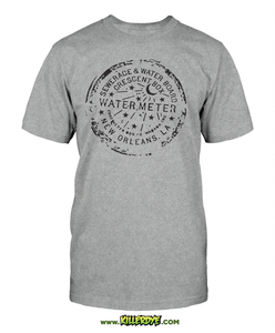 NOLA Water Meter - T-Shirt - Men's - KillerDye T-Shirts