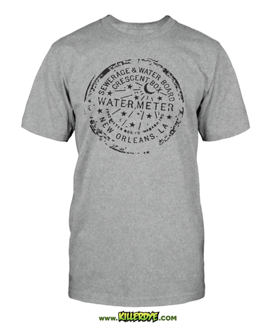 NOLA Water Meter - T-Shirt - Men's