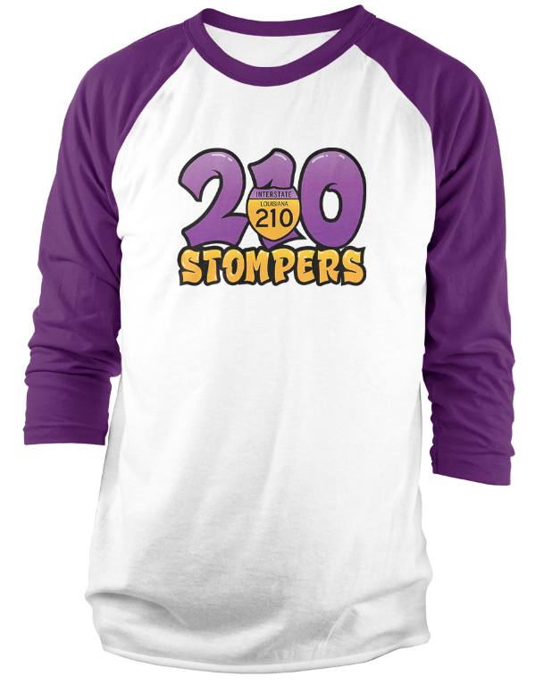210 Stompers 3/4 Sleeve